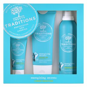 Energising Secrets Gift Set Large - Gel Douche Moussant - TREETS
