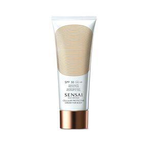 Silk Bronze Cellular Protective Cream for Body SPF 30 - Protection Corps - SENSAI