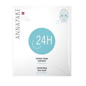 24 H - Moisturizing face mask with rice extract - ANNAYAKE