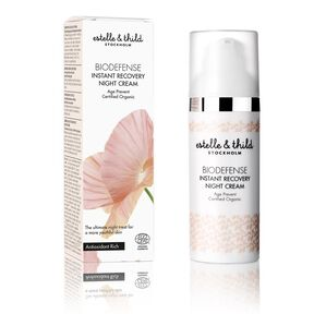 Biodefence Instant Recovery Night Cream - Soin Anti-Âge - ESTELLE & THILD