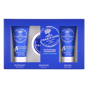 Revitalising ceremonies Gift Set Small - Gommage Corps - TREETS