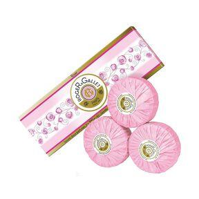 Rose Coffret 3 Savons Parfumés - Savon - ROGER & GALLET