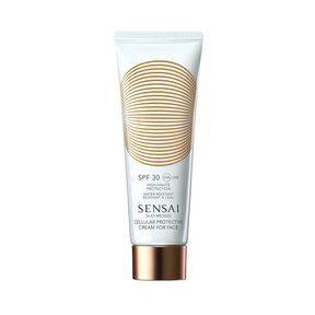 Silky Bronze Cellular Protective Cream for Face SPF 30 - Protection Visage - SENSAI