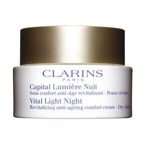 Capital Lumière Nuit Peaux Sèches - Crème Nuit - CLARINS