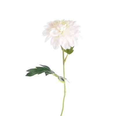 Stielblume Dahlie ca L:45cm, weiß