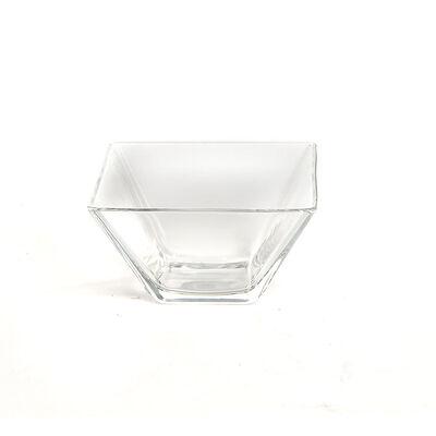Dipschale SQUARE Glas klar ca L:10 x B:10 x H:5,8 cm