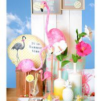Dekofigur Flamingo pink ca H:54 cm