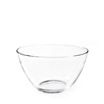 Salatschale Glas klar ca D:27,5 cm