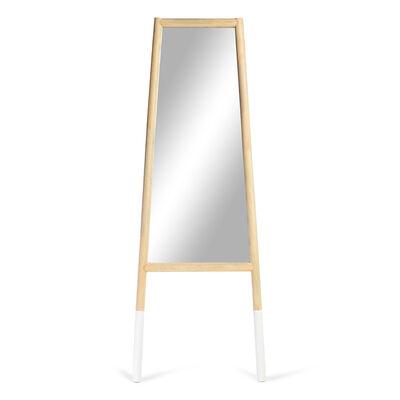 Spiegel Kiefernholz weiß ca B:45 x L:1,5 m