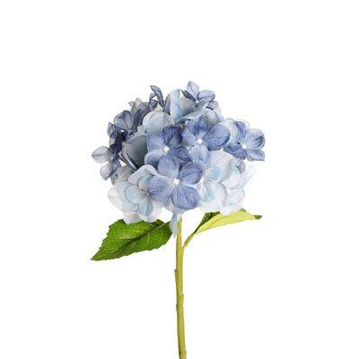 Stielblume Hortensie hellblau ca L:36 cm