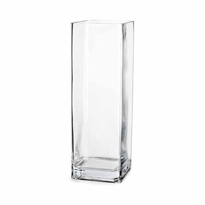 Vase Glas klar ca B:10 x L:10 x H:40 cm