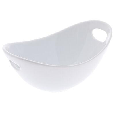 Schale oval mit Griff ca D:31 cm