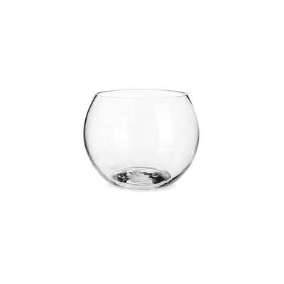 Kleine Kugelvase aus Glas, ca D:10cm x H:9cm