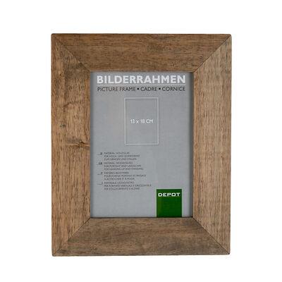 BilderrahmenGummibaum braun 13x18 cm