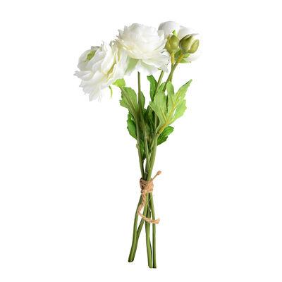 Ranunkelbündel 5er-Set weiß ca L:32 cm
