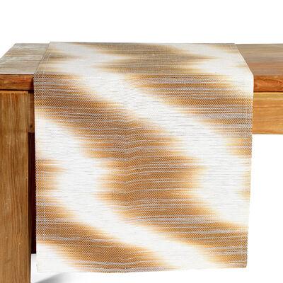 Tischläufer Batikmuster schlamm ca B:40 x L:150 cm (100% Papier)