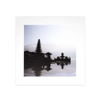 Bild TEMPEL Papier grau ca B:40 x L:40 cm