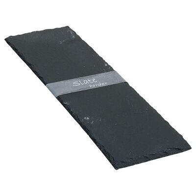 Schieferplatte grau ca L:38 x B:13 cm