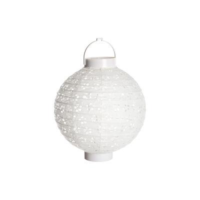 LED Lampion (batteriebetrieben) weiß ca D:20 x H:21 cm