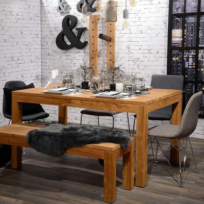 Tisch MANOS Teakholz aus Recyclingmaterial FSC®-zertifiziert natur ca L:180 x B:90 x H:78 cm