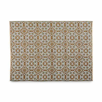 Teppich Outdoor Mosaik taupe ca B:90 x L:150 cm