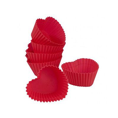 Muffinförmchen Herz 6 Stück