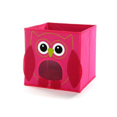 Box Eule pink ca L:27 x B:27 x H:27 cm