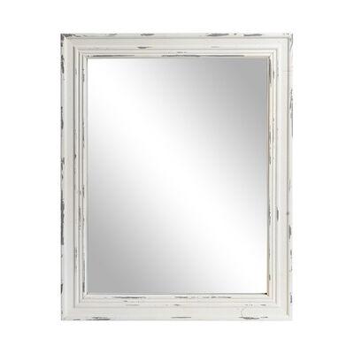 Spiegel Mischholz weiß ca B:30 x L:40 cm
