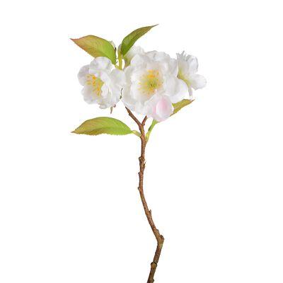 Zweig Kirschblüte weiß ca L:27 cm