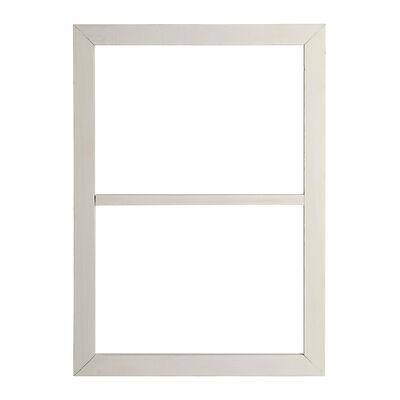 Dekoobjekt Rahmen Holz weiß ca B:35 x L:50 cm
