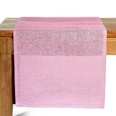 Tischläufer Uni rosa ca B:40 x L:150 cm