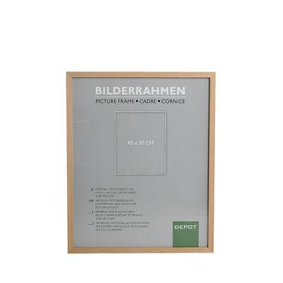 Bilderrahmen Mischholz natur ca B:40 x L:50 cm