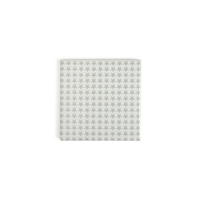 Untersetzer Sterne grau ca B:10 x L:10 cm