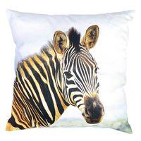 Kissen Zebra, ca B:45cm x L:45cm, braun