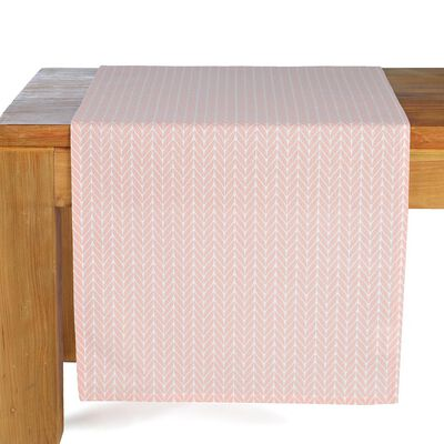 Tischläufer Retro rosa ca B:40 x L:150 cm (100% Baumwolle)