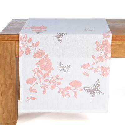 Tischläufer Romantik rosa ca B:40 x L:150 cm (100% Baumwolle)