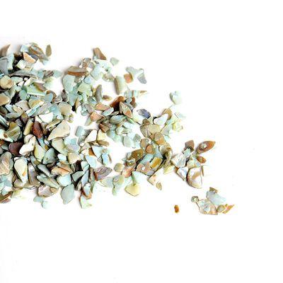 Granulat Muschel hellblau ca 265 ml