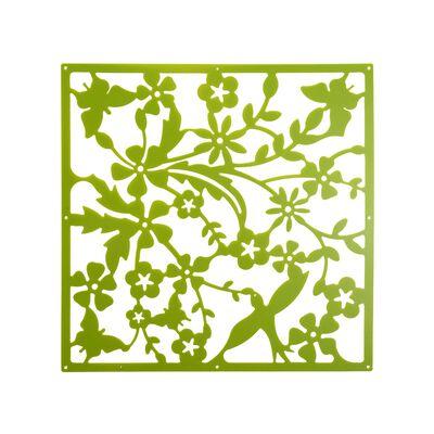 Dekoelemente Frühling 4 Stk grün ca B:40 x L:160 cm