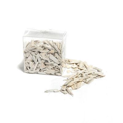 Granulat Shine Fichte weiß ca 20-50 mm / 600 ml