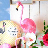 Kissen Summer Time gelb ca D:45 cm (Kissenbezug: 100% Polyester)