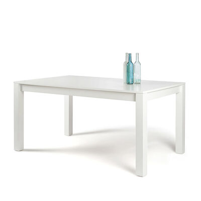 Tisch Mischholz weiß ca B:160 x H:76 x T:90 cm