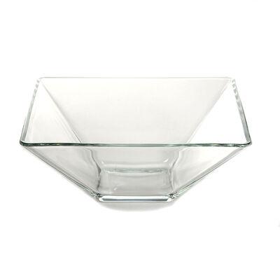 Schale SQUARE Glas klar ca L:20 x B:20 x H:8 cm