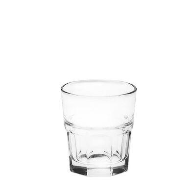 Glasbecher GROOVE Glas klar ca 280 ml