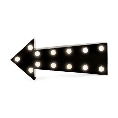 Leuchtobjekt Pfeil LED, ca L:50cm, schwarz