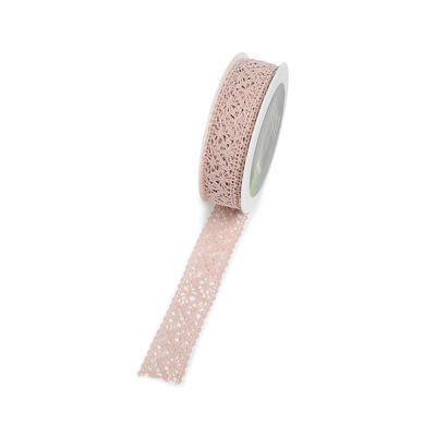 Band Spitze, ca B:2,5cm x L:300cm, altrosa