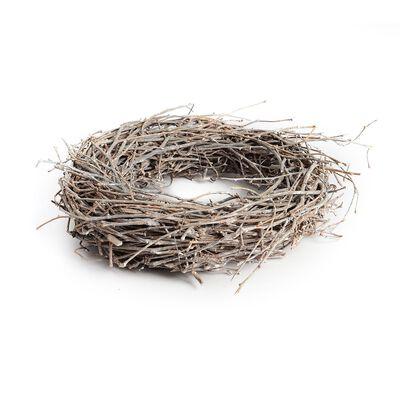 Kranz Äste Holz braun ca D:33 cm