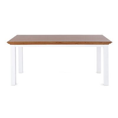 Tisch COUNTRY Holz weiß ca L:200 x B:100 x H:77 cm