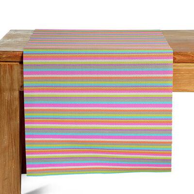 Tischläufer Kunststoff bunt ca B:40 x L:150 cm