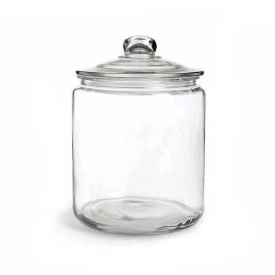 Vorratsglas Glas klar ca D:18 x H:25 cm