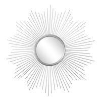 Spiegel Strahlen, ca D:75cm, silber